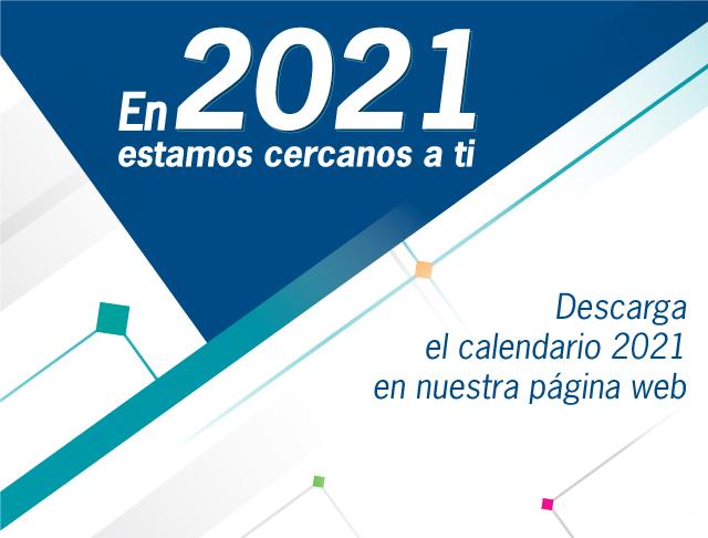 Calendario Bancaribe 2021