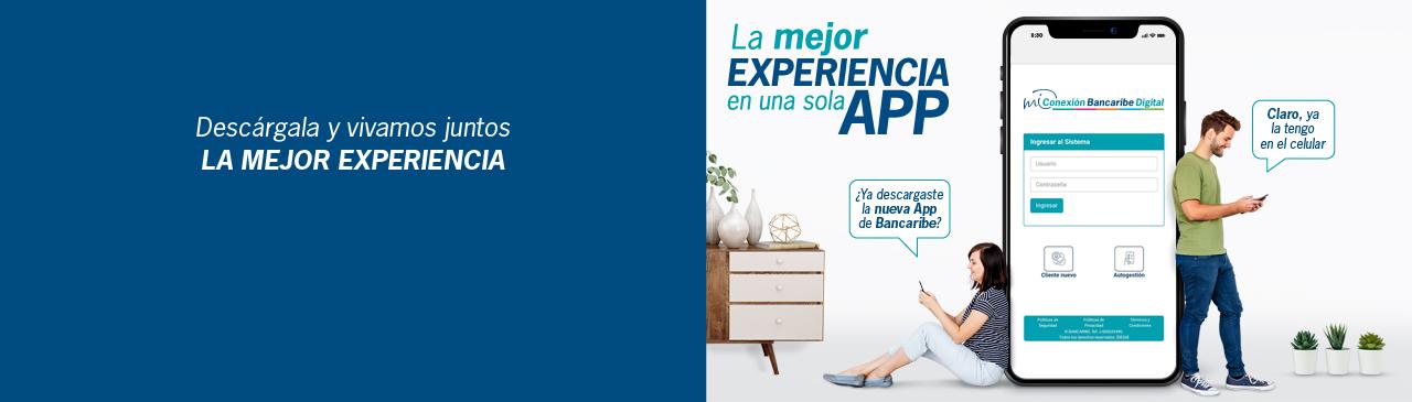 App Mi Conexión Bancaribe Digital